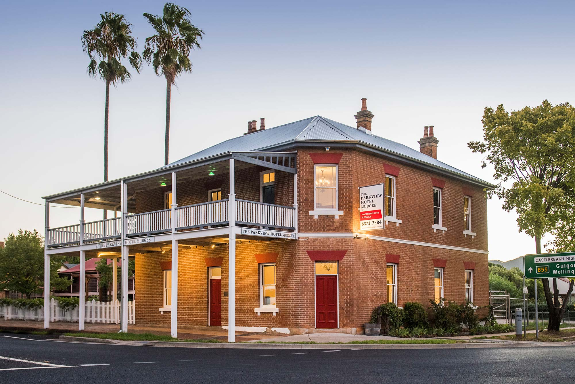 The parkview hotel mudgee modern country elegance for The parkview