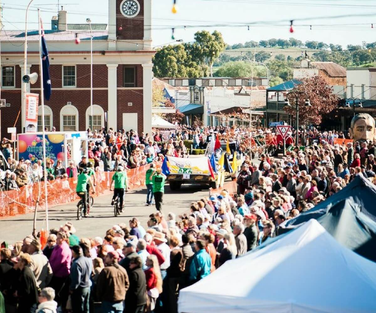 Henry Lawson Festival, winter in Mudgee