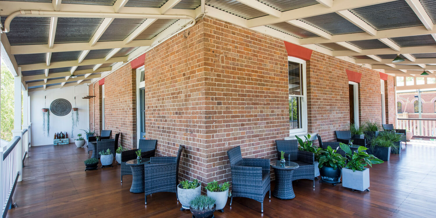 Verandah The Parkview Hotel Mudgee