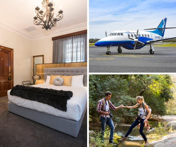 Mudgee Fly and Stay, Water To Wine, special deal