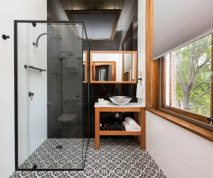 luxury bathroom, Parkview Hotel Mudgee