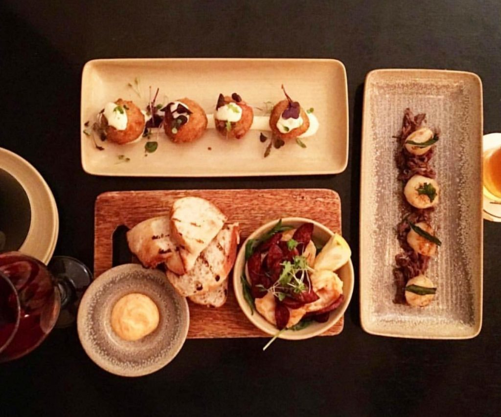 Share plates at Eltons